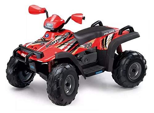 Polaris Sportman 700 Twin, Peg-Pérego, Red