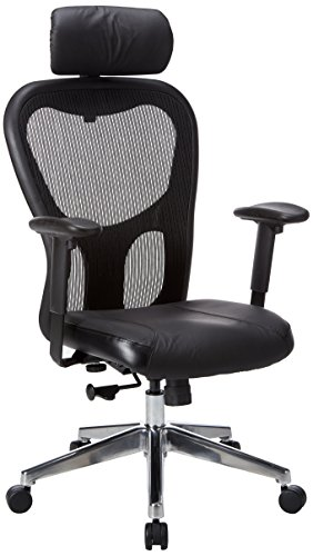 Lorell High-Back Executive Chair, 24-7/8 by 23-5/8 by 52-7/8