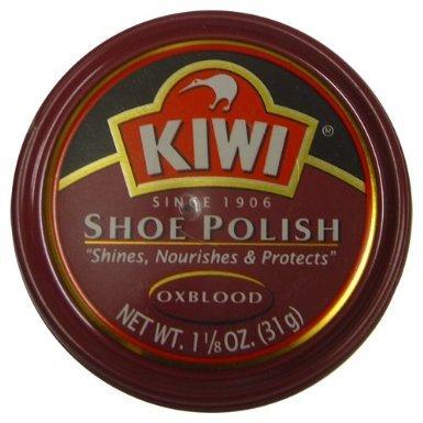 Kiwi Oxblood Shoe Polish 32g (1-1/8 Oz.)