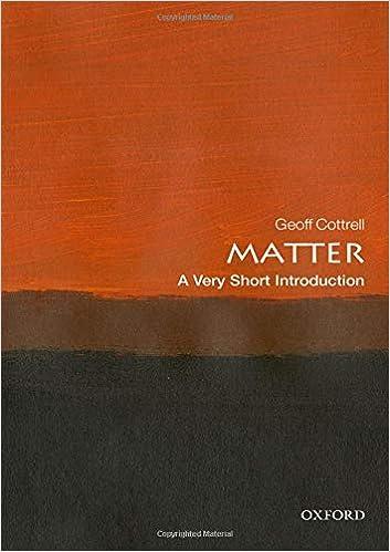 Matter A Very Short Introduction