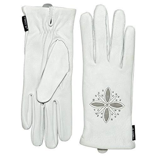(ヘスタ) Hestra レディース 手袋?グローブ Deerskin Edelweiss Gloves - Leather, Wool [並行輸入品]