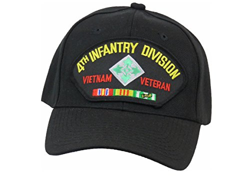 4TH INFANTRY DIVISION VIETNAM VETERAN CAP (4th Infantry Division Vietnam)