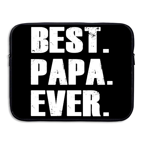 BANA Custom Best. Papa. Ever. Shock-Resistant Tablet Zipper Case 15 Inch - Costume Design Classes San Diego