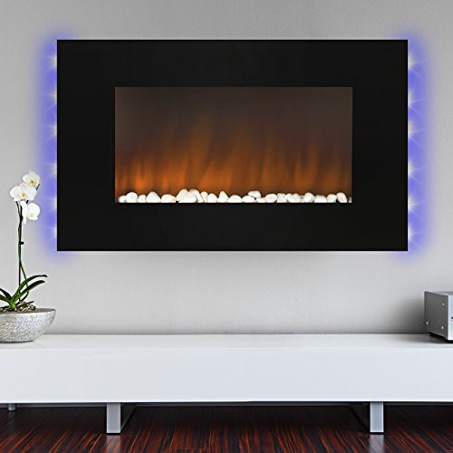 Electric Fireplace With Led Lights