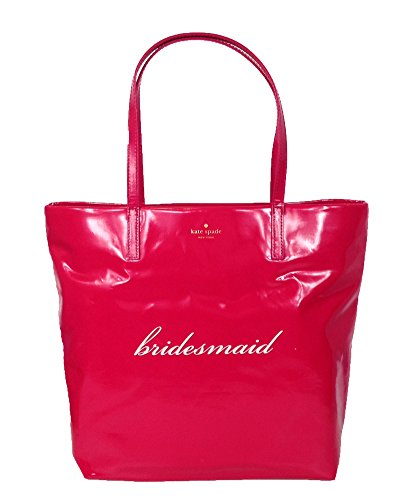Kate Spade New York Wedding Belles 'Bridesmaid' Bon Shopper Tote, Pink
