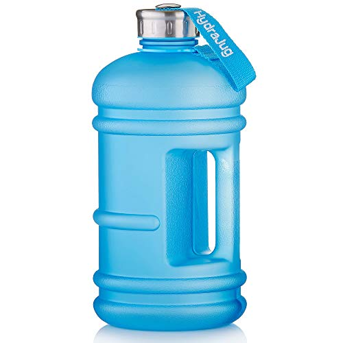 Hydra Jug - Half Gallon Water Jug | Dishwasher Safe BPA Free Material | Easy to Carry, Big Capacity, Reusable Large Water Bottle for Daily Hydration, Fitness, Gym, Lifestyle [Upgraded 1/2 Gallon - 2.2 Liter Jug]