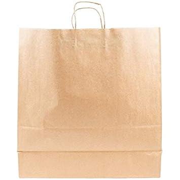 Amazon.com: 200pcs Tempo papel Kraft Natural bolsa de la ...