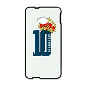 Generic Real Madrid James TPU Cell Phone Cover Case for HTC One M7 AS1W8148513
