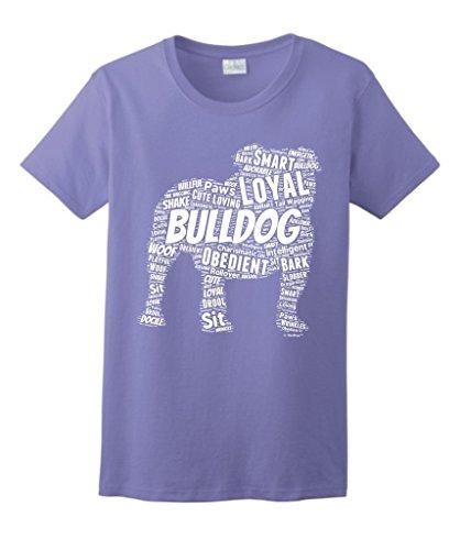 English Bulldog Puppy Ladies T Shirt