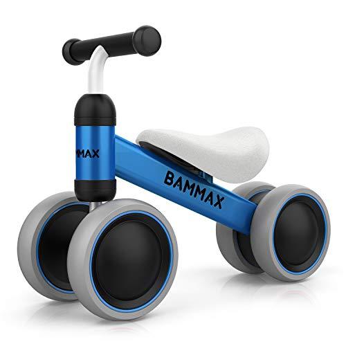 Bicicleta sin Pedales Niño 1 Año, Triciclos Correpasillos Bammax
