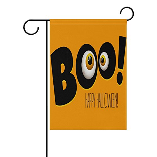 U LIFE Decorative Happy Halloween Boo Emoji Garden