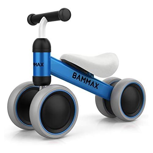 chollos oferta descuentos barato Bammax Bicicleta sin Pedales Bici sin Pedales Niño Juguetes Bebes 1 Año Triciclos Bebes Correpasillos Bebes 1 Año Azul
