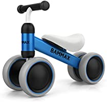Bammax Balance Bike Baby Walker Push Bike Baby Ride On Bike for 1-2 Year Old Boys Girls Kids and Toddlers First Bike...