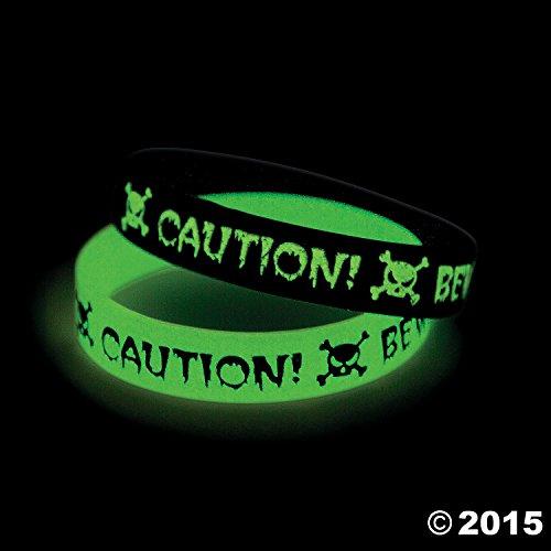 Glow-in-the-Dark Halloween (Halloween Rubber Bracelet)