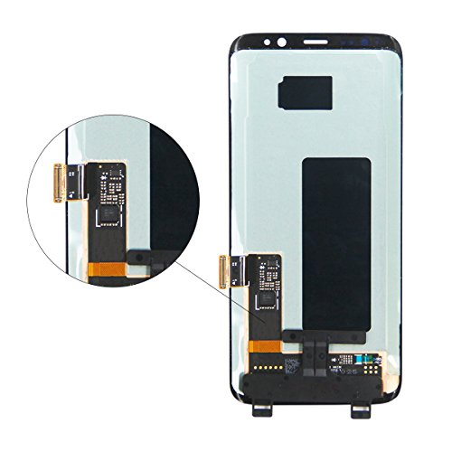HJSDtech LCD Display Screen Touch Screen Digitizer Assembly Replacement for Samsung Galaxy S8 by HJSDtech (Image #2)
