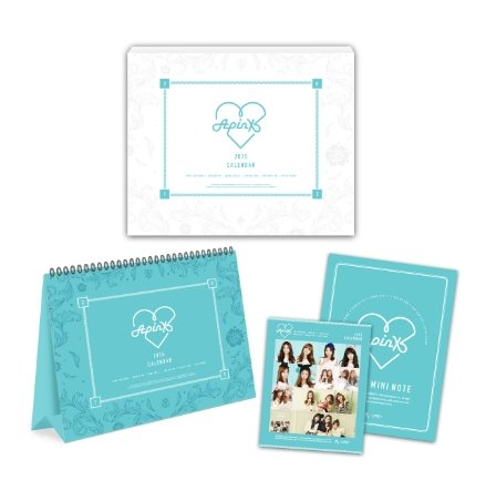 [Domestic tracking] Apink 2015 official Calendar [+an extra Apink polaroid card(including signature)][+an extra apink teaser and autograph photo][+an extra apink postcard(10cmx15cm)][+an extra apink sticker]