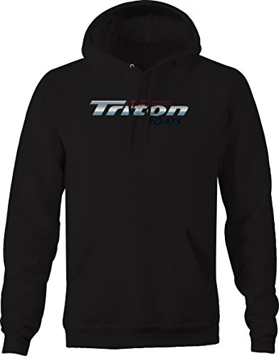 Heritage Apparel Triton Fishing Boats Sweatshirt - XLarge Jet Black