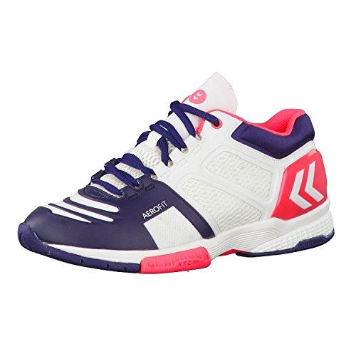 Aero Chaussures Charge nbsp;WS 60506 Hummel Rose de Ballon handball Blanc HB 220 TAxwIqHn