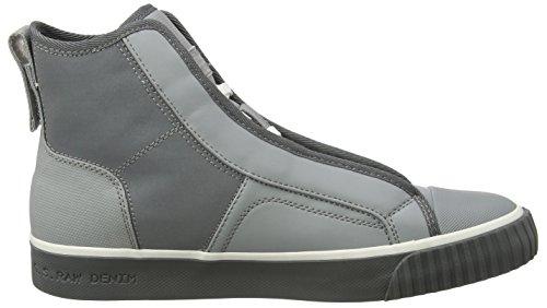 G-STAR RAW Scuba Mid Reflective, Sneaker a Collo Alto Uomo Grigio (Industrial Grey)
