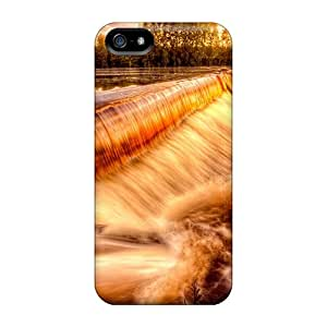 YRE6283kSQK Golden River Falls Awesome High Quality Iphone 5/5s Case Skin