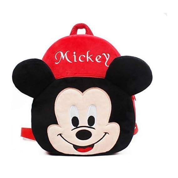 Pandora Velvet Kids School/Nursery/Picnic/Carry/Travelling Bag - 2 to 5 Age (Mky)