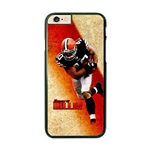 NFL Case Cover For Apple Iphone 4/4S Black Cell Phone Case Cleveland Browns QNXTWKHE1708 NFL Generic Phone