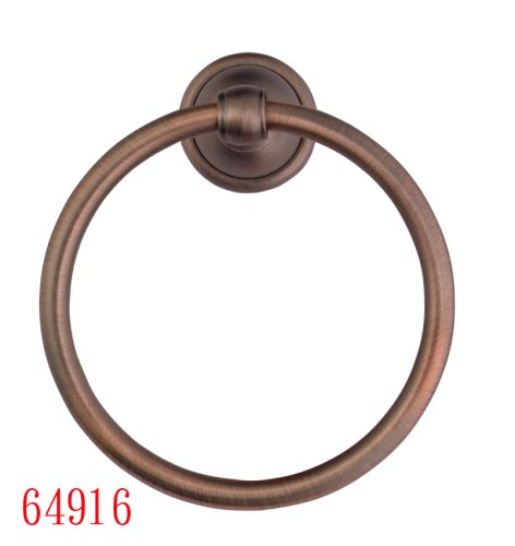 Towel Rings, Antique Copper Finish - Plumb USA