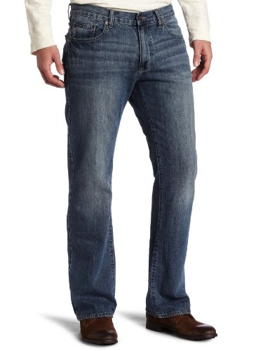 calvin klein jeans men 39 s washed sky bootcut jean light. Black Bedroom Furniture Sets. Home Design Ideas