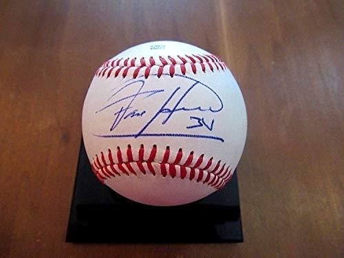 - Felix Hernandez Cy Young Pg Autographed Signed Autograph Auto Venezuela Pro Baseball Sports Memorabilia JSA Authentic Memorabilia