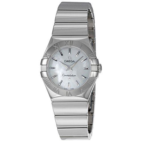 Omega Women's 123.10.27.60.05.002 Constellation Mother-Of-Pearl Dial Watch