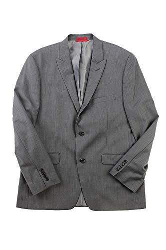 Alfani Men's Grey Pindot Slim Fit Jacket S ()