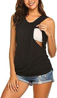 Yacun Breastfeeding Clothing Shirt Nursing Tees Maternity Clothing