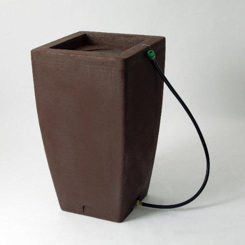 Algreen 84312 Products Madison Rain Barrel , Brownstone,49 Gallon