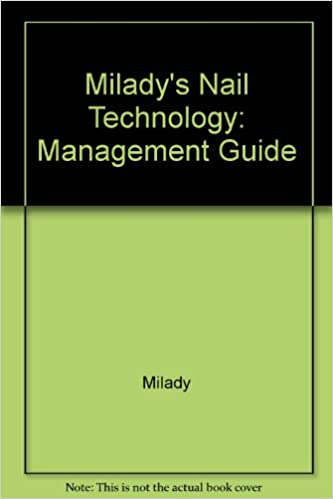 Buy Milady S Nail Technology Course Management Guide Book