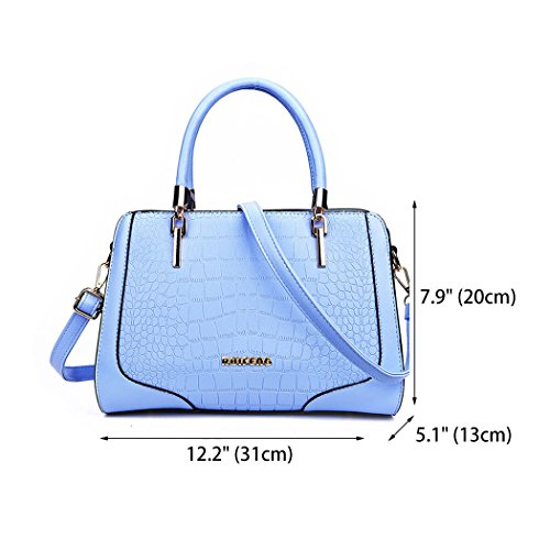 Bags Shoulder Top Handle Handbags Women's Bags Faux Body Cross Leather Wathet Bags 1wxgqY70