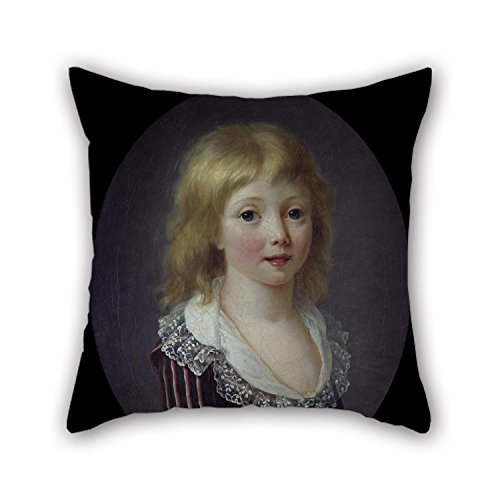 Uloveme The Oil Painting Attributed To Anna Rosalie Filleul - A Little Boy Of The Comminges Family Cushion Covers Of ,20 X 20 Inches / 50 By 50 Cm Decoration,gift For Study Room,her,dance (Toddlers Rosalie The Robot Costume)