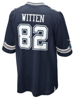 7d8db686940 Image Unavailable. Image not available for. Color  Dallas Cowboys Jason  Witten  82 Nike Navy Game Replica Jersey