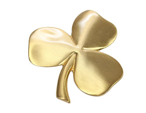 Robert Emmet Co. Shamrock Wall Hanging Irish Wall Decor Gold Plated Pewter Irish -