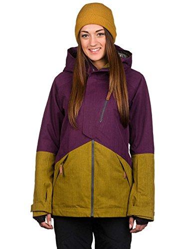 Oakley Women's Spellbound 2 L Gore BZI Jacket, Small, Deep Plum