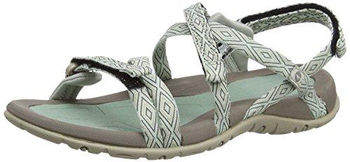 Hi-Tec Santorini Strap, Sandalias de Senderismo para Mujer Gris (Jadette/warm Grey)
