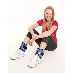 Well-Being-Matters 41YJ66Po0nL._SS300_ All Pro Weight Adjustable Ankle Weights, 5-lb pair (up to 2½-lbs per ankle)