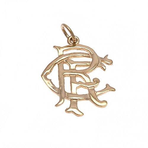 Rangers F.C - 9ct Gold Pendant (MEDIUM) by Bourne Gifts