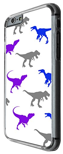 1203 - Multi dinosaurs collage t-rex fun Design For iphone 5C Fashion Trend CASE Back COVER Plastic&Thin Metal -Clear