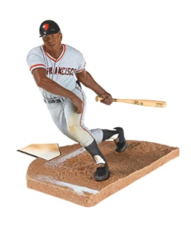 Willie Mays McFarlane San Francisco Giants Series 2 Cooperstown Action Figure