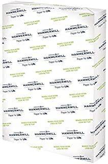 product image for Hammermill Printer Paper, Premium Color 32 lb Copy Paper, 12 x 18 - 1 Ream (500 Sheets) - 100 Bright, Made in the USA