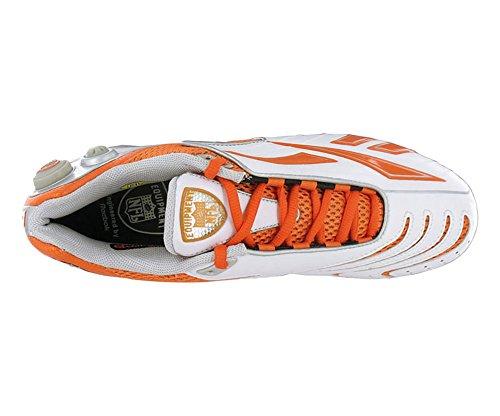 Reebok Menns Pro Pumpebrennerhastigheten M2 Hvit Oransje Støpt Fotball Kleminnretningene 12 M