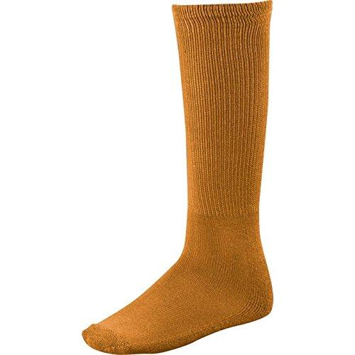 - Twin City Senior All-Sport Solid Color Tube Socks (Medium) Texas Orange