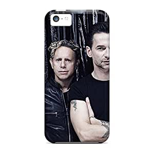 KevinCormack Iphone 5c Perfect Hard Phone Cases Provide Private Custom Realistic Depeche Mode Band Pattern [xkt7481mMpV]