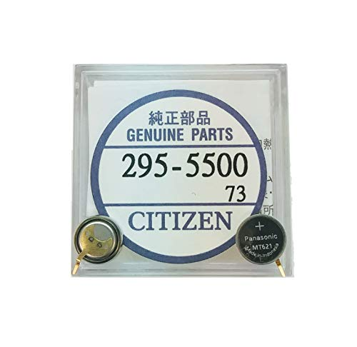 295-5500 Genuine Original Citizen Watch Energy Cell - Battery - Capacitor for Eco-Drive Watch (Same as 295-55)