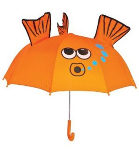 Gold Fish Umbrella - Cool Gold Fish Umbrella For Kids (Fish For Kids)
